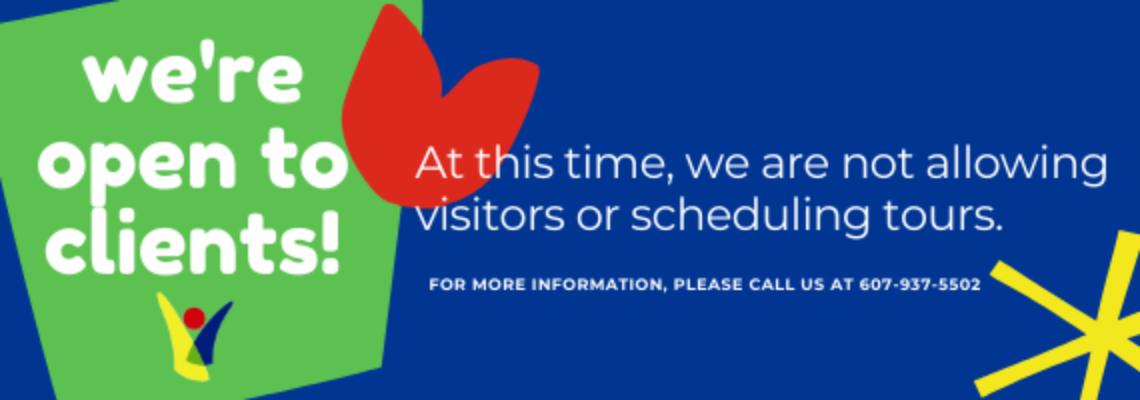 Reopening – website banner